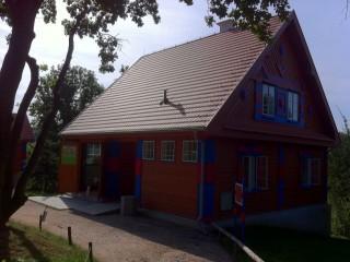 Gočárovy domky v pražské Zoo