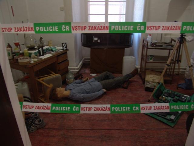 Expozice v Policejním muzeu v Praze na Karlově