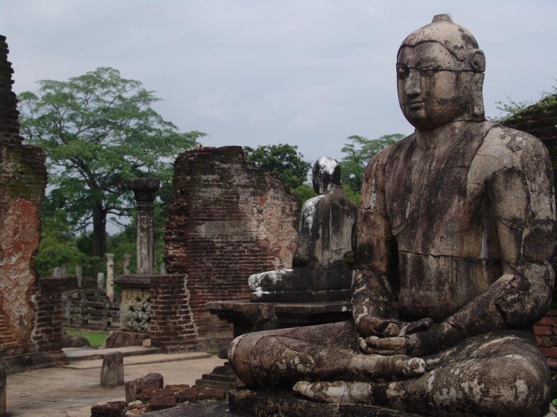 Historický komplex Polonaruwa, Srí Lanka