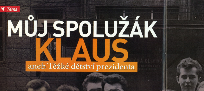 Můj spolužák Klaus, časopis Instinkt, 2005