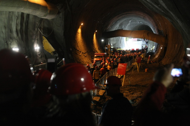 Den otevřených dveří v tunelu Blanka